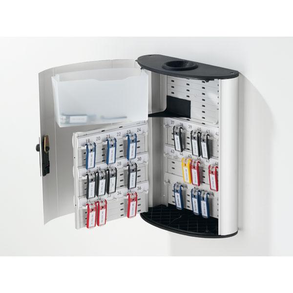 durable key box plus schl sselkasten mit ffnung im deckel. Black Bedroom Furniture Sets. Home Design Ideas