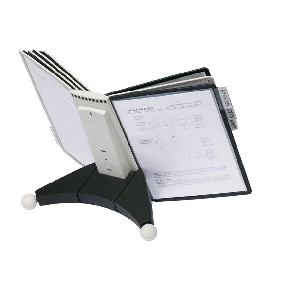 Durable Sichttafel Tischständer Sherpa Table 10 Mit 10 Eingefassten