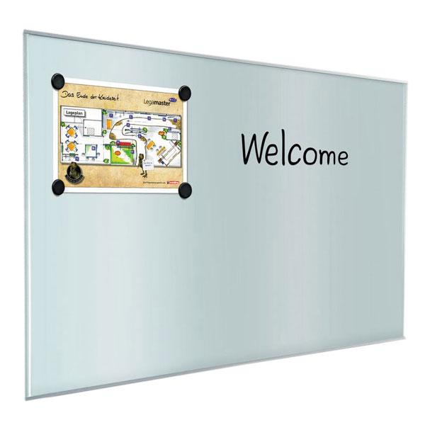 Legamaster Glasboard Pure Elegantes Glas Whiteboard Mit Exzellente