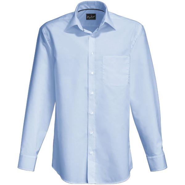 hemden businesshemden hakro business hemd langarm hellblau. Black Bedroom Furniture Sets. Home Design Ideas