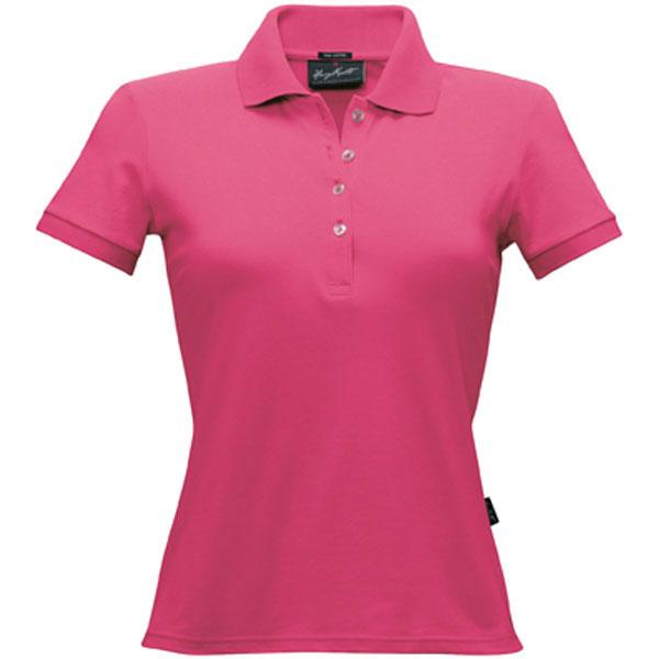 674f6c463602b1 Hakro Damen-Poloshirt Stretch magenta aus weichem dehnfähigem ...