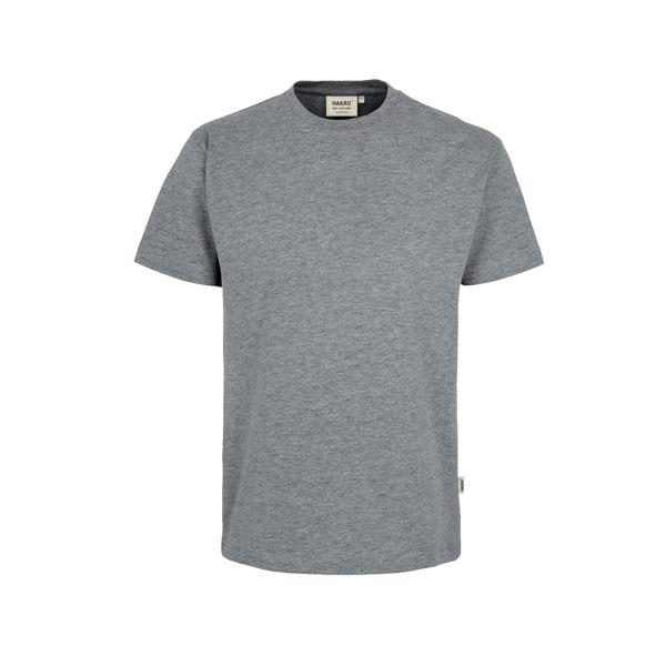 hakro t shirt heavy grau meliert 104 baumwolle in besonders robuster qualit t. Black Bedroom Furniture Sets. Home Design Ideas