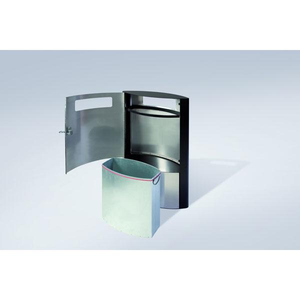 outdoor abfallsammler hailo abfallsammler profiline outdoor 35. Black Bedroom Furniture Sets. Home Design Ideas