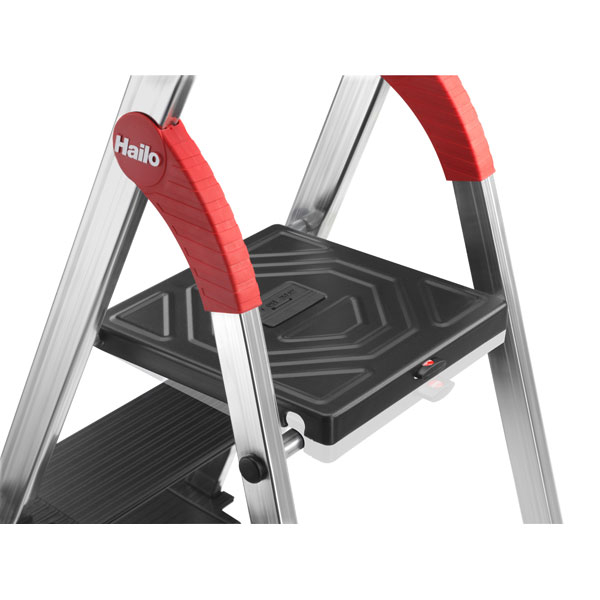 hailo profiline s xxr 225 aluminium stufenstehleiter. Black Bedroom Furniture Sets. Home Design Ideas