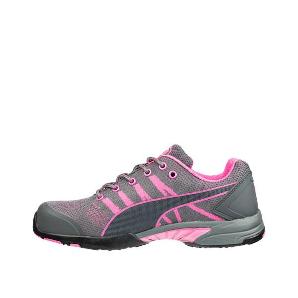 Puma Sicherheitsschuhe Celerity Knit Pink Wns Low S1 HRO SRC Halbschuhe  speziell für Damen mit Stahlkappe