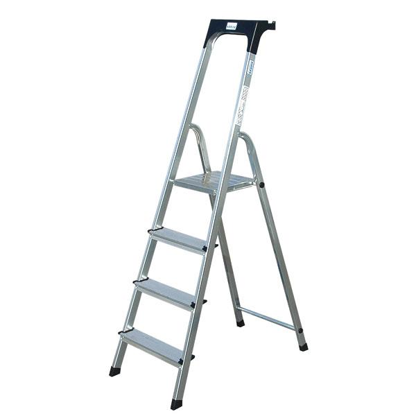 leitern stufen stehleitern krause stehleiter aus aluminium. Black Bedroom Furniture Sets. Home Design Ideas