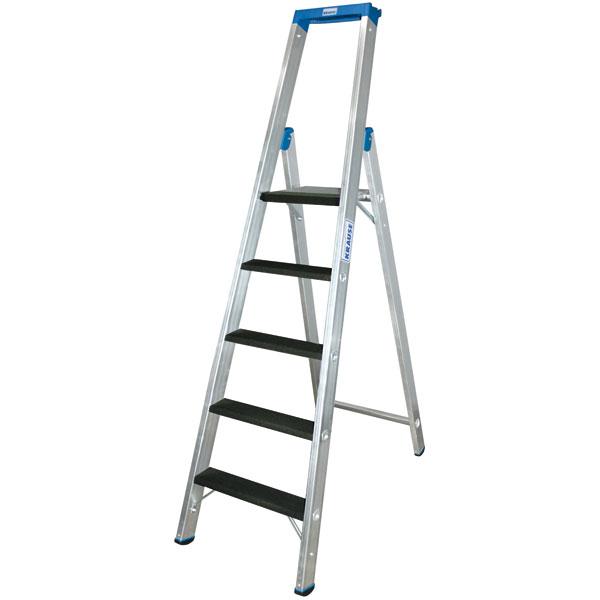 leitern stufen stehleitern krause stufen stehleiter mit. Black Bedroom Furniture Sets. Home Design Ideas