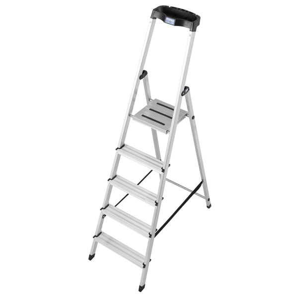 leiter krause stufen stehleiter 5 stufig. Black Bedroom Furniture Sets. Home Design Ideas