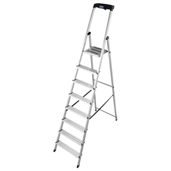 leiter krause stufen stehleiter 8 stufig. Black Bedroom Furniture Sets. Home Design Ideas