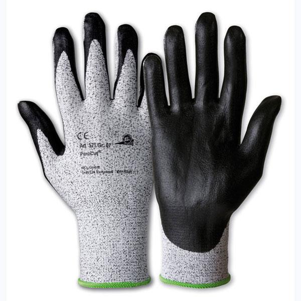 kcl schnittschutzhandschuhe purocut 521 schwarz wei mit nitrilschaumbeschichtung und. Black Bedroom Furniture Sets. Home Design Ideas