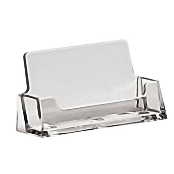 Visitenkartenständer Taymar Counter Single Ausrichtung Horizontal Material Polystyrol