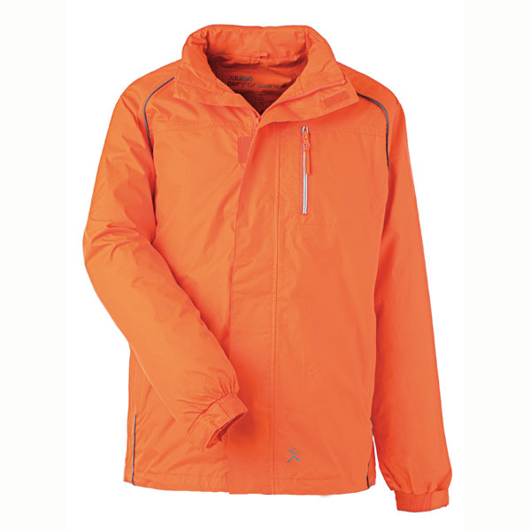Regenjacke orange