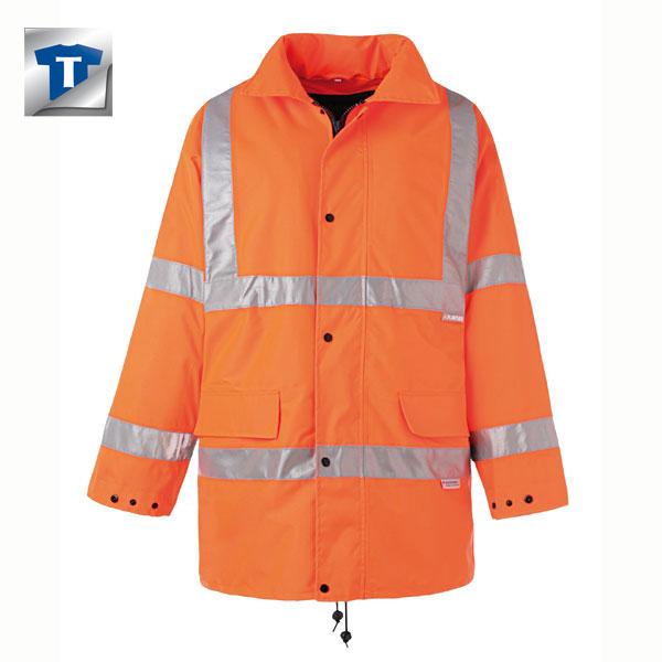 Dickies Warnschutz Parka HiViz EN 20471 Gelb Orange Hochsichtbar Warnschutzjacke