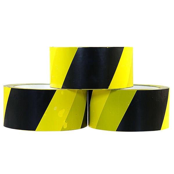 selbstklebendes pvc packband warnband gelb schwarz