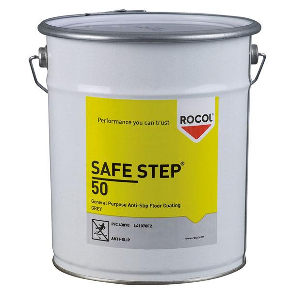 rocol safe step 50 antirutschbeschichtung rutschhemmung r13 haftet auf metall beton u. Black Bedroom Furniture Sets. Home Design Ideas