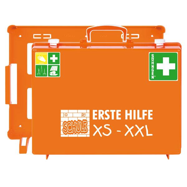 erste hilfe koffer s hngen kinder verbandkasten schule xs xxl mt cd orange. Black Bedroom Furniture Sets. Home Design Ideas