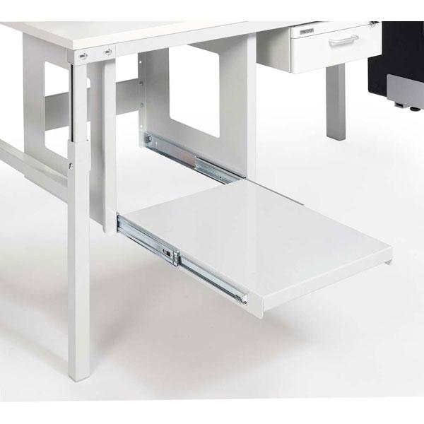 packtisch zubeh r ausziehbarer stahlboden f r drucker. Black Bedroom Furniture Sets. Home Design Ideas