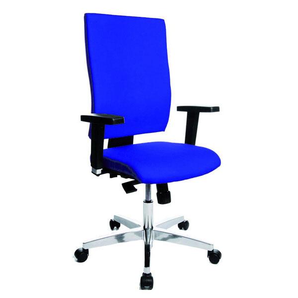 b rost hle office 800 drehstuhl mit verstellbarer r ckenlehne toplift. Black Bedroom Furniture Sets. Home Design Ideas