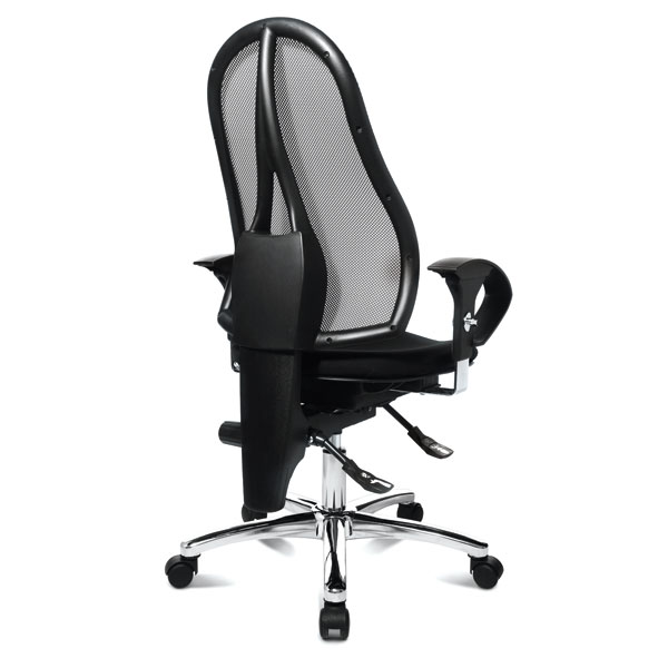 topstar b rostuhl sitness 15 spezieller ortho sitz mit atmungsaktiver netzr ckenlehne. Black Bedroom Furniture Sets. Home Design Ideas