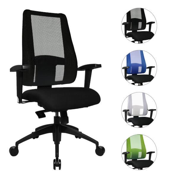 Topstar Bürostuhl Lady Sitness Deluxe speziell Entwickelt für die ...