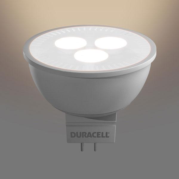 duracell spot led lampe s17 leistung 3 6w 25w ersatz fassung gu5 3. Black Bedroom Furniture Sets. Home Design Ideas