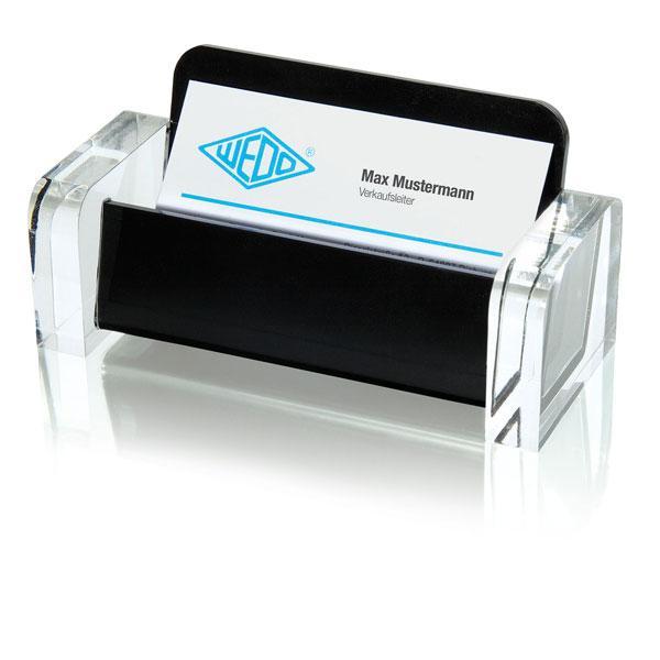 Wedo Visitenkartenhalter Acryl Exclusive Design In Edler Optik Material Acrylglas
